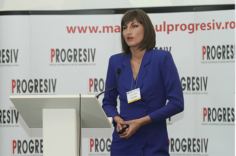 Cora Lupas - speaker Progresiv Interactiv 2015