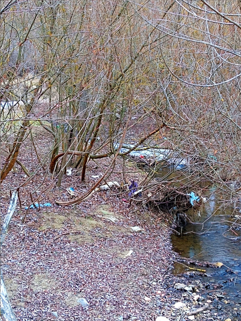 Riverbed trash - Cora Lupas - Down by the river (3)
